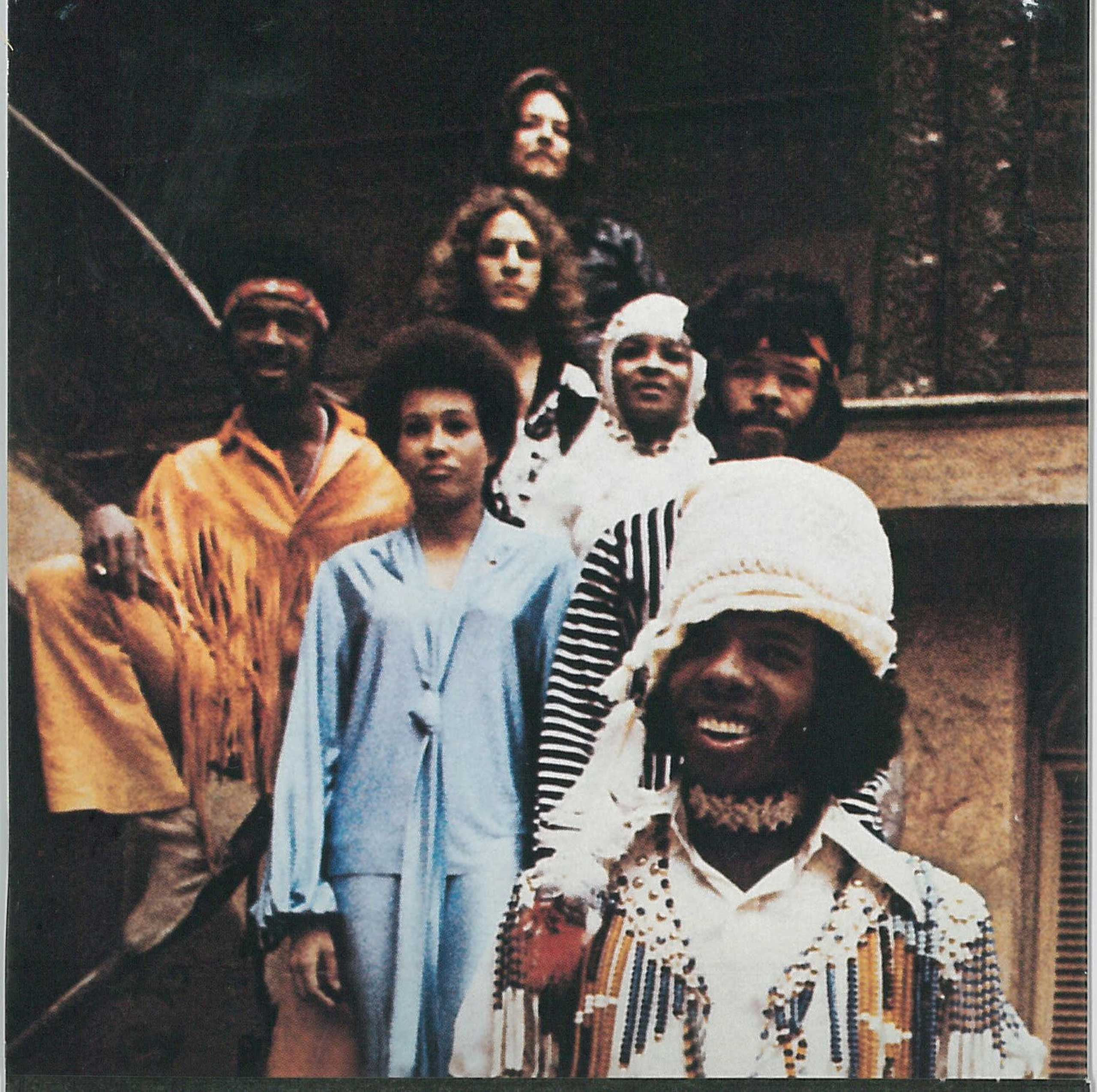 Sly and the Family Stone's 1969 album Stand! was an important influence on soul and funk and is among the most sampled records of all time. (Epic Records/Library of Congress)