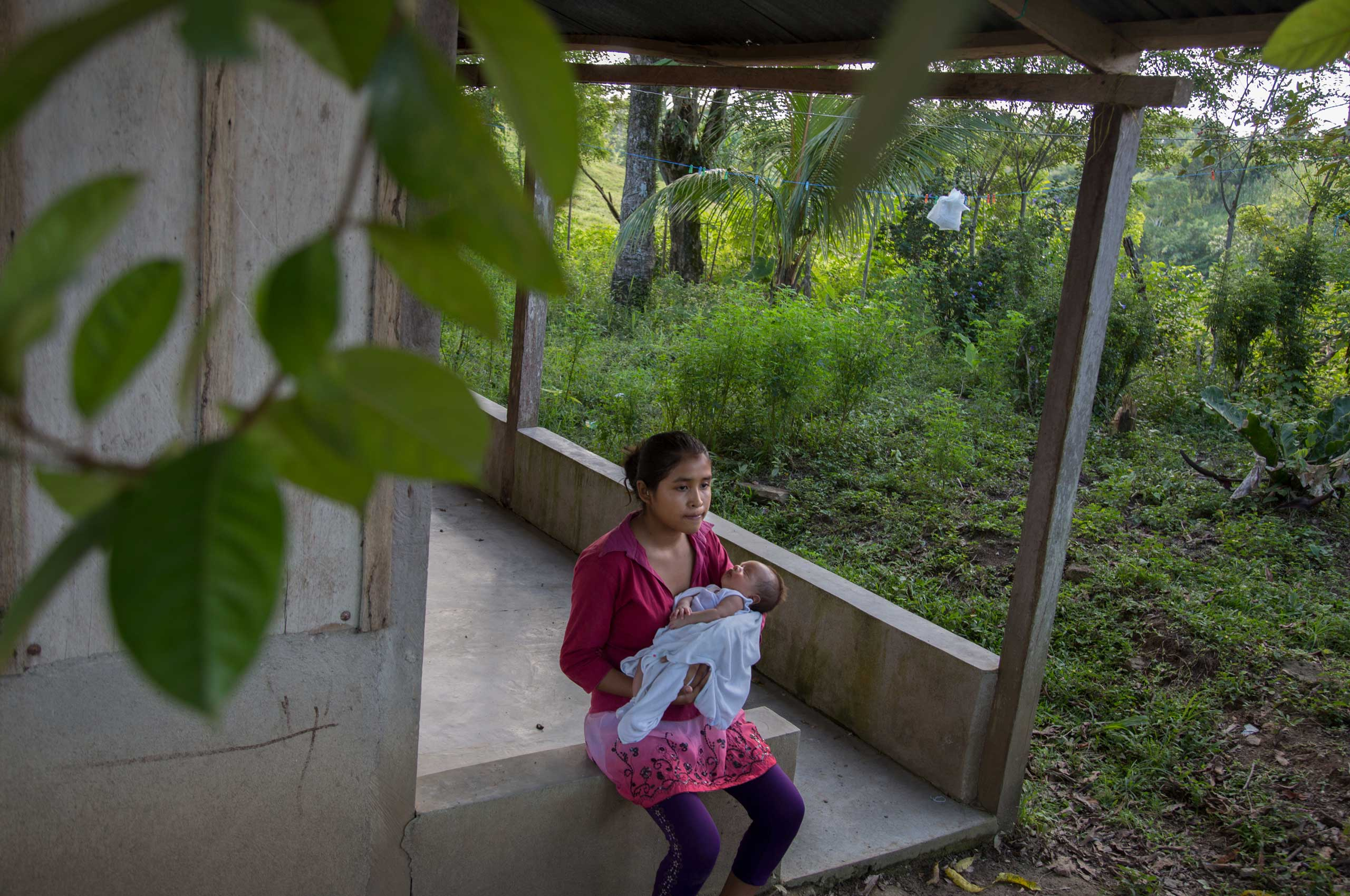 The New York Times: Child, Bride, MotherSaida, 14, with her month-old son.
