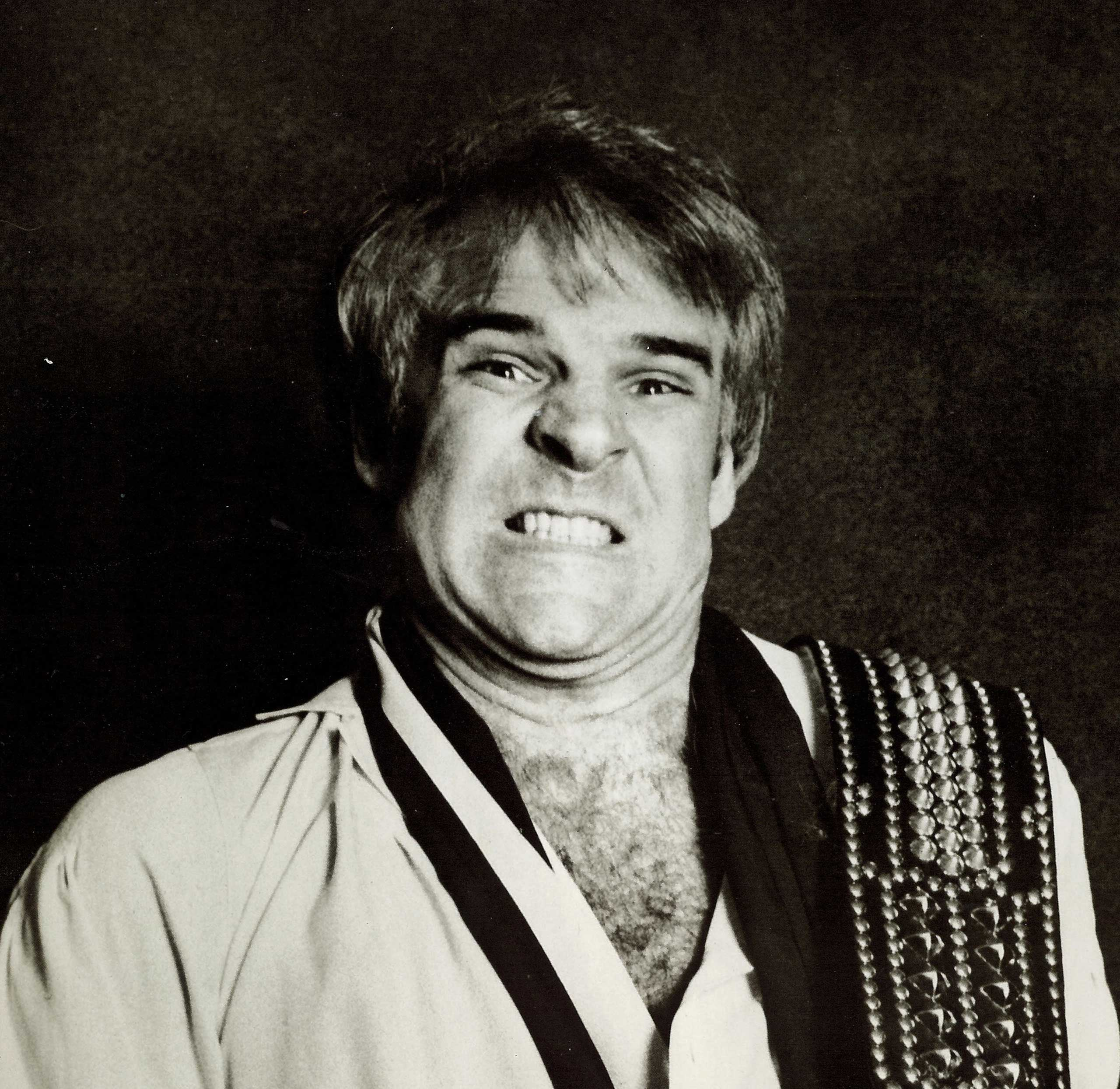 """Steve Martin's 1978 comedy album """"A Wild and Crazy Guy"""" was notable for eschewing formulaic jokes and for bits like """"King Tut."""" (Warner Records/Library of Congress)"""