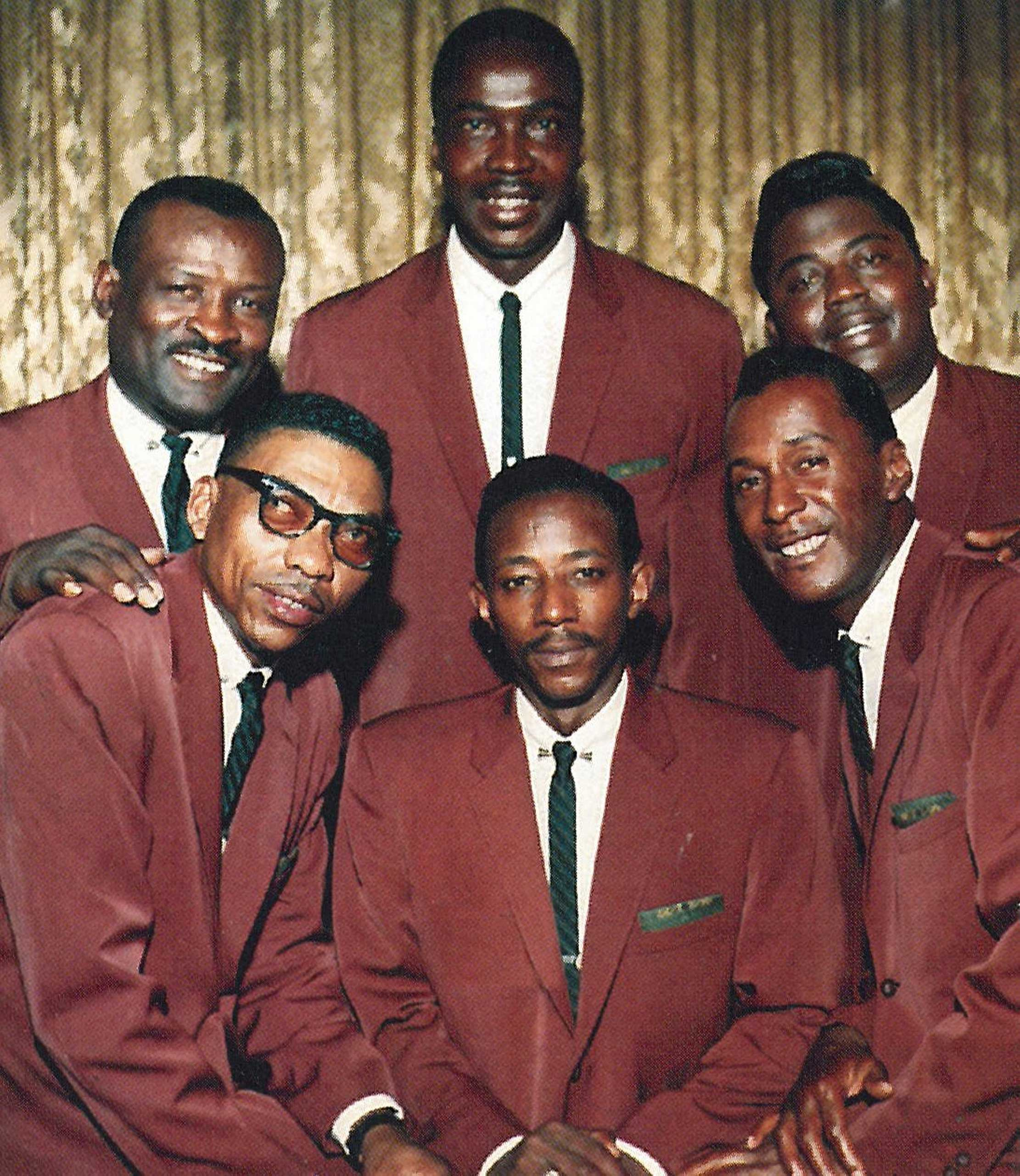 """The 1959 recording of the gospel classic """"Mary Don't You Weep"""" broke new ground musically and became an anthem of the civil rights movement. (Vee-Jay Records/Library of Congress)"""