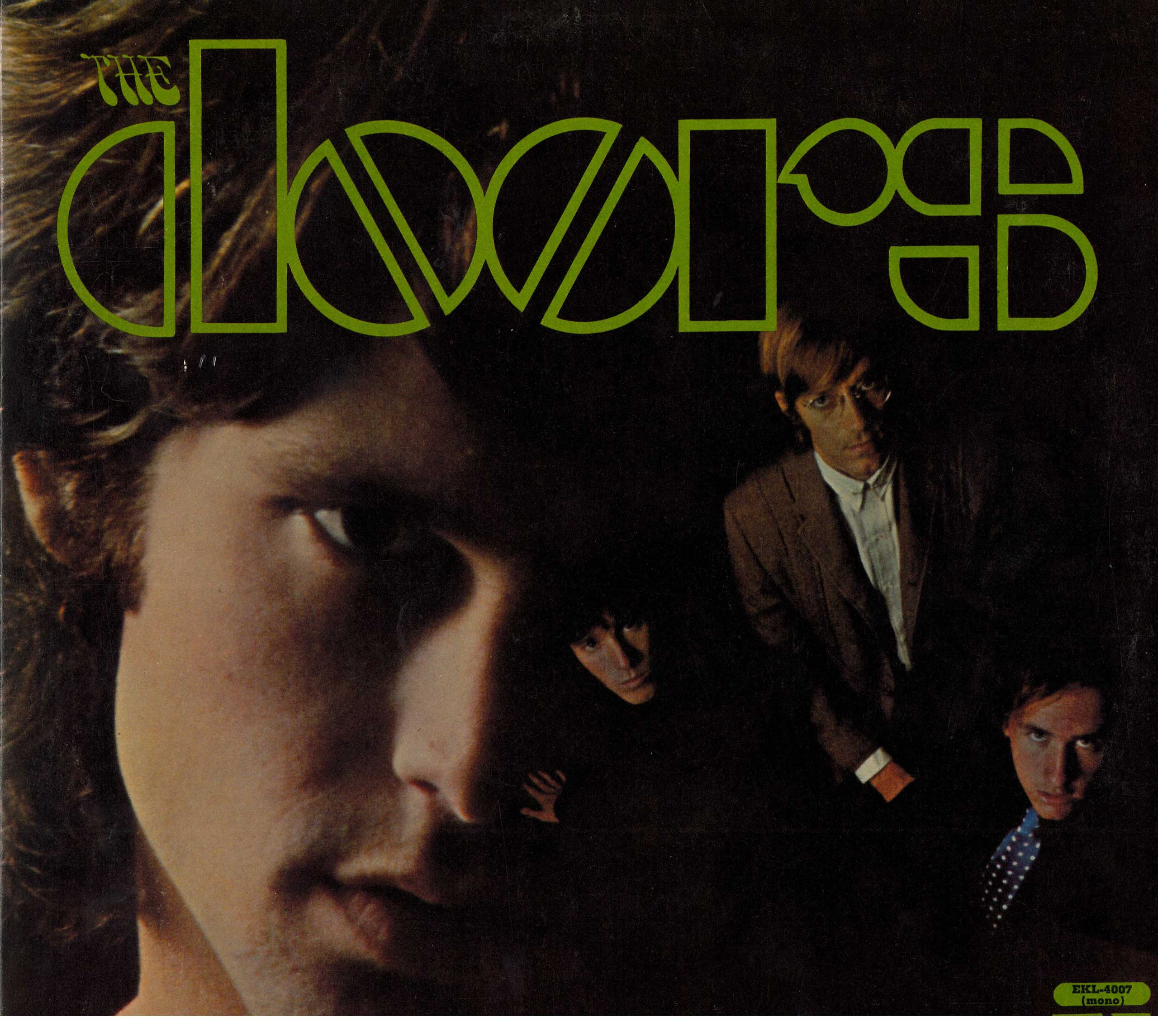 The Doors' self-titled 1967 debut album featured the hit  Light My Fire  as well as the 12-minute Oedipal drama  The End.  (Elektra/Library of Congress)