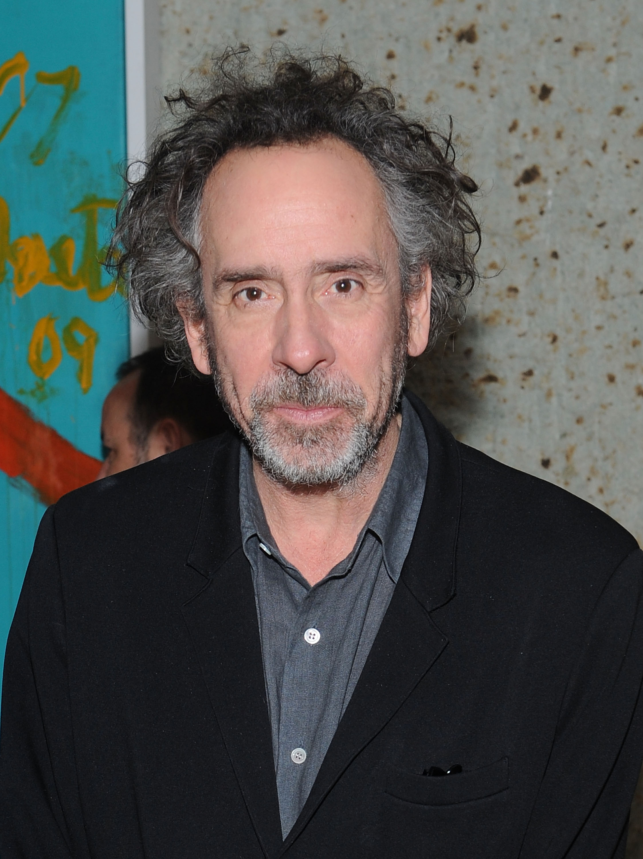 Tim Burton at the Museum of Modern Art on Dec. 15, 2014 in New York City.