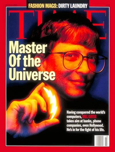 Bill Gates, June 5, 1995