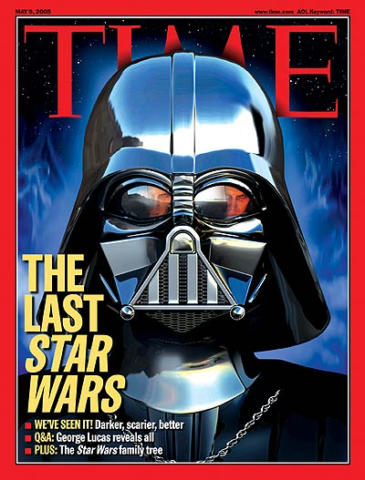 Darth Vader, May 9, 2005