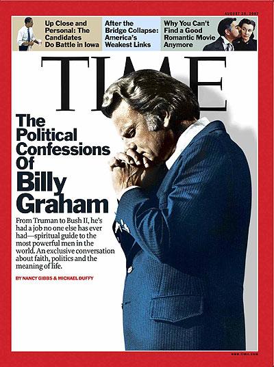 Billy Graham, Aug. 20, 2007