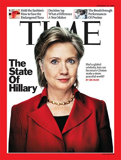 Hillary Clinton, Nov. 16, 2009