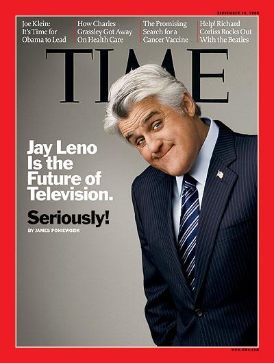 Jay Leno, Sept. 14, 2009