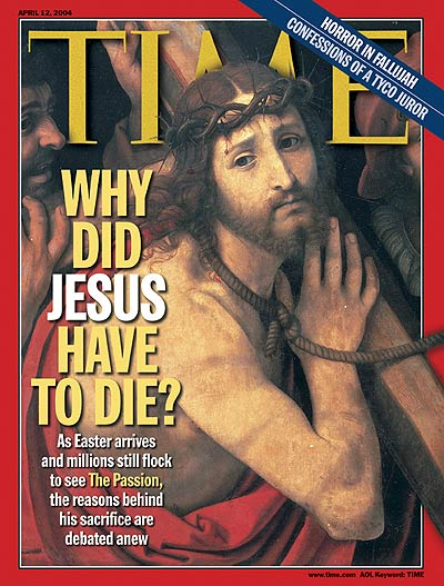 Jesus, April 12, 2004