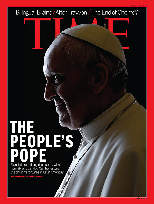 Pope Francis, July 29, 2013