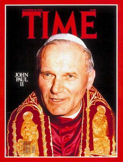 Pope John Paul II, Oct. 30, 1978