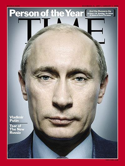 Vladimir Putin, Dec. 31, 2007