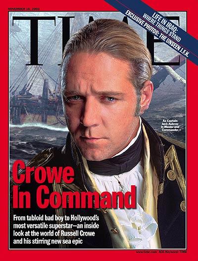 Russell Crowe, Nov. 10, 2003