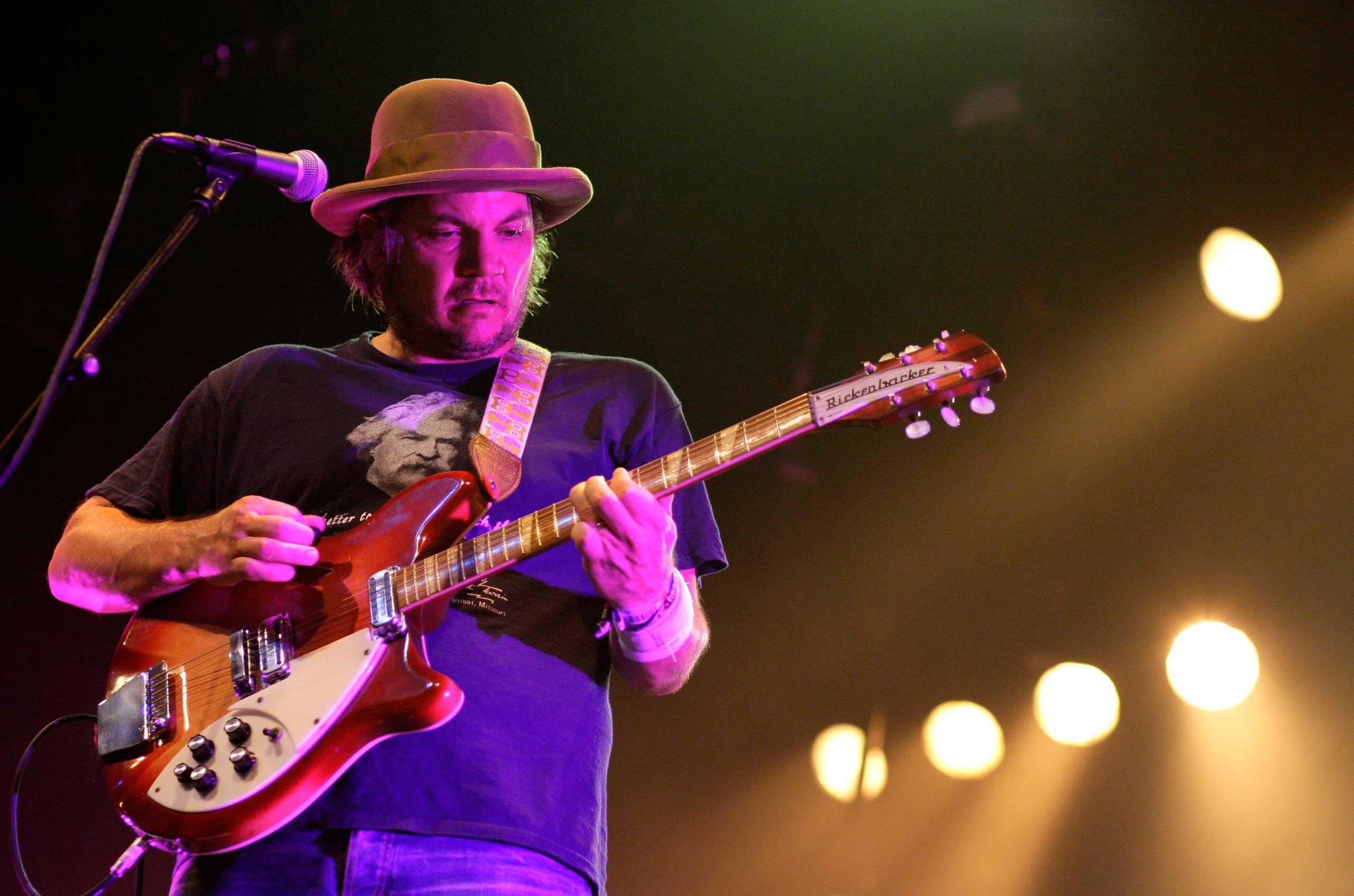 Jeff Tweedy of Wilco performs in 2012.