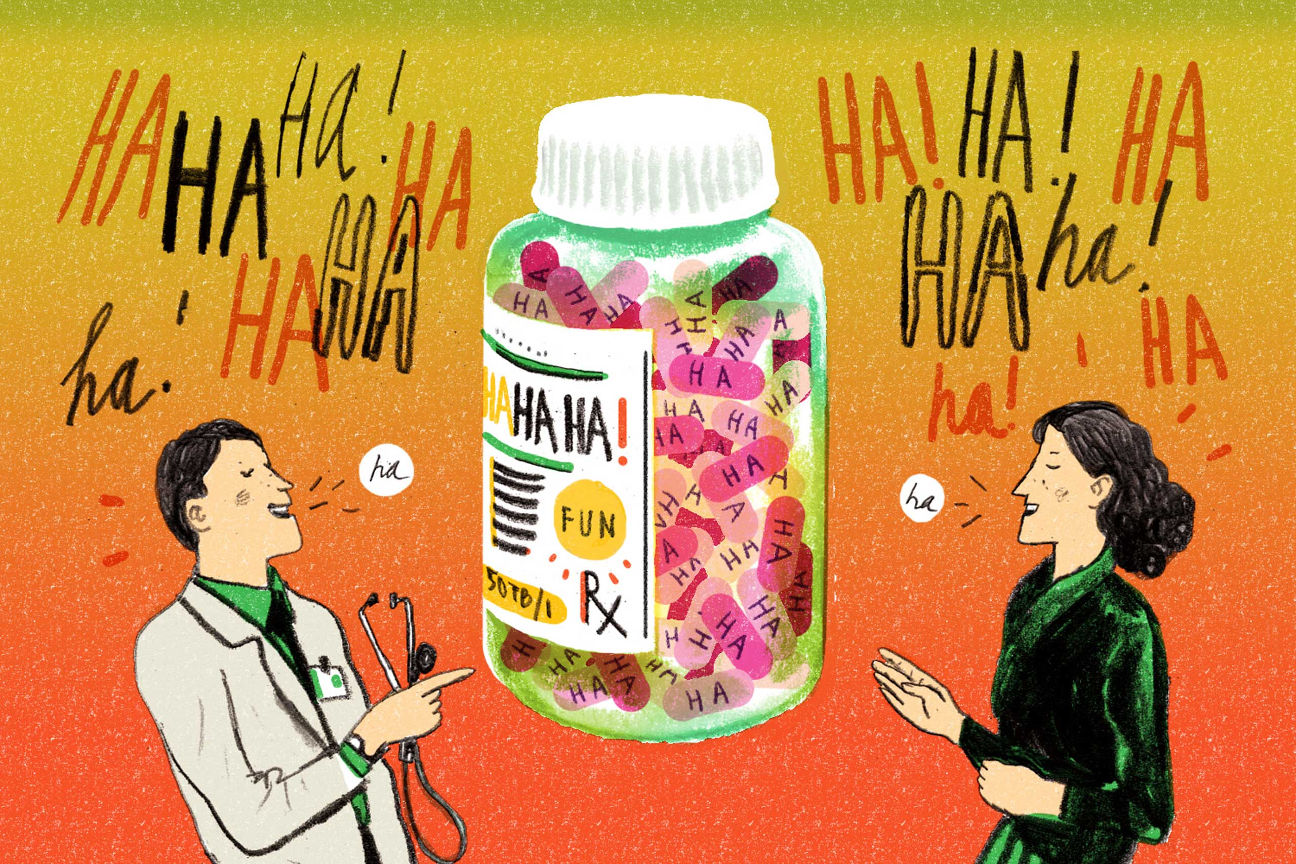 "<strong><a href=""http://time.com/3592134/laughing-health-benefits/"" target=""_blank"">You Asked: Does Laughing Have Real Health Benefits?</a></strong> Here's proof that everybody could use a belly laugh."