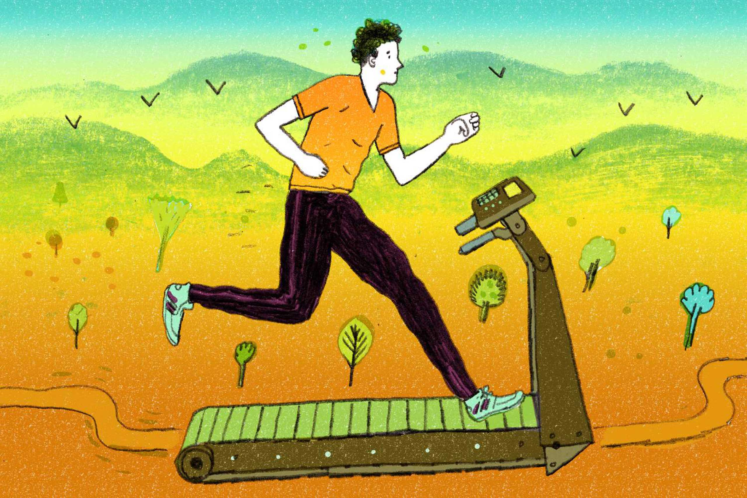 "<strong><a href=""http://time.com/3578343/exercise-treadmill-running/"" target=""_blank"">You Asked: Is Running on a Treadmill as Good as Running Outside?</a></strong>  You'll fool your body into thinking it's outside with this one small treadmill tweak."