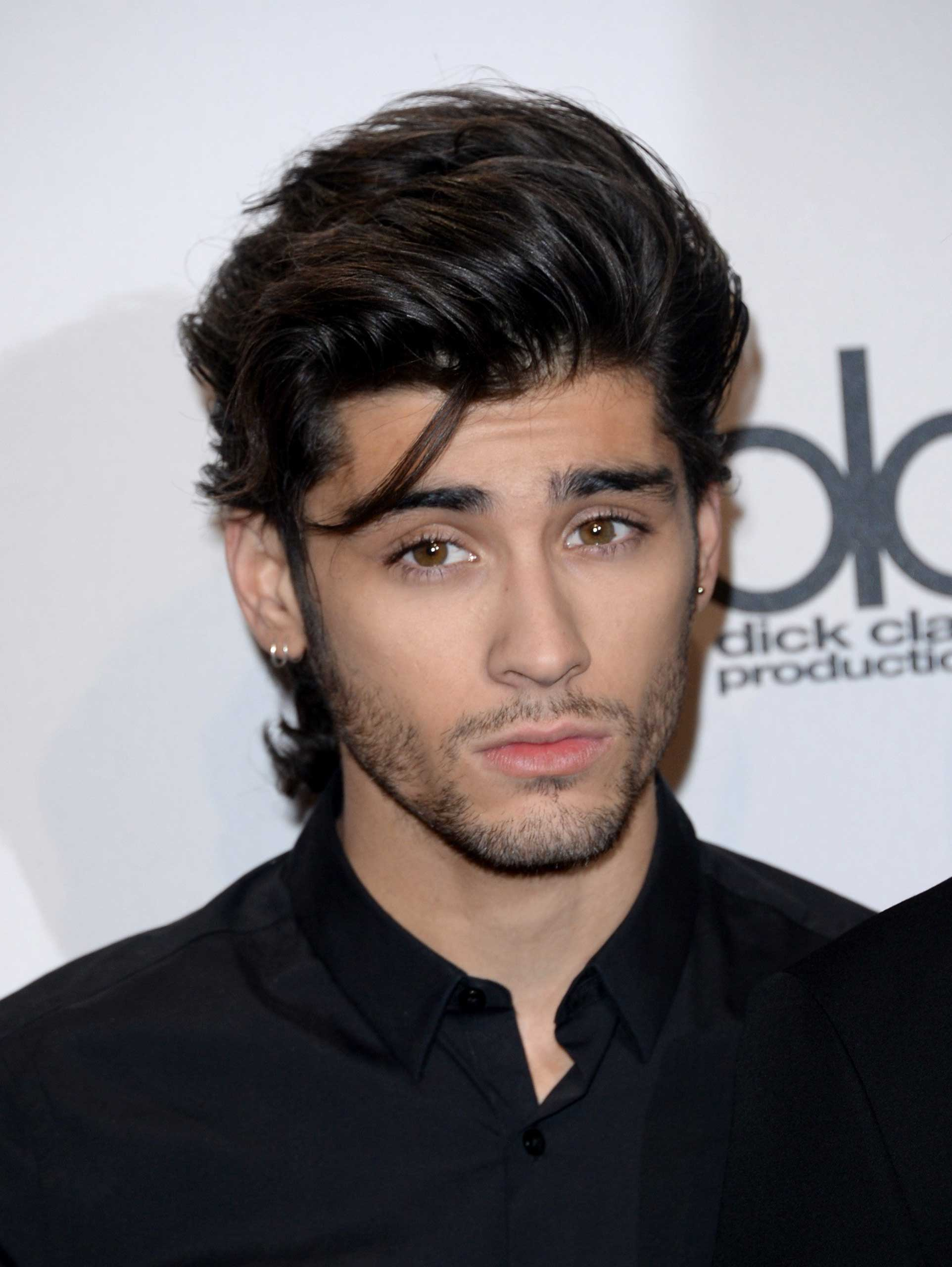Singer Zayn Malik of One Direction at the 2014 American Music Awards at Nokia Theatre in Los Angeles on Nov. 23, 2014.
