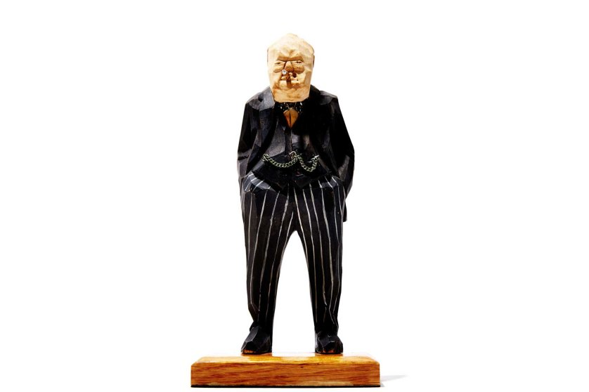 "2. Bob Iger's Winston Churchill Figurine ""It was carved by a dear friend of my father's and given to me as a gift when I was 11 or 12,"" says the Disney CEO. ""It's been on every one of my desks for almost 40 years as a reminder of leadership, perseverance and eternal hope that good conquers evil."""