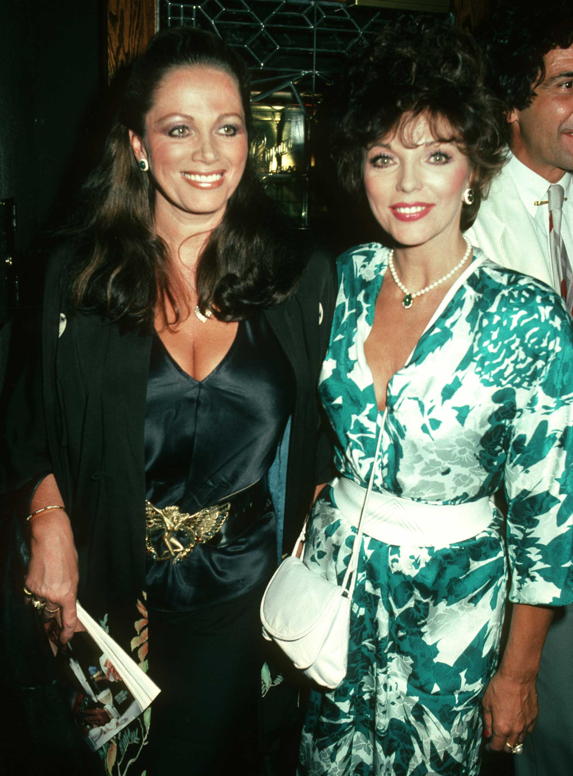 THE COLLINS SISTERS: Joan, the eldest, gained fame as Alexis Carrington Colby on television's 'Dynasty.' Jackie tried and failed to start a film career, but found great success as a writer of romance novels.