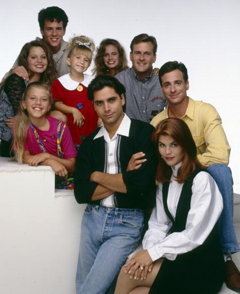 The cast of FULL HOUSE.
