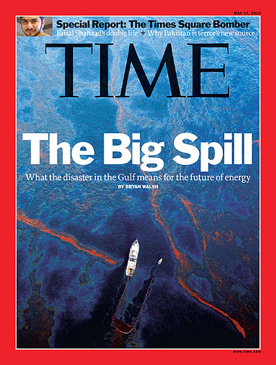 The May 17, 2010, cover of TIME