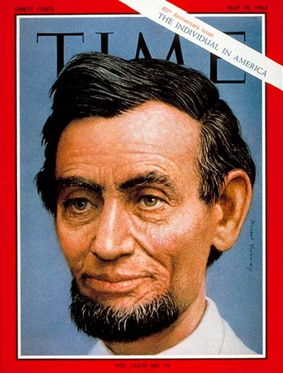 The May 10, 1963, cover of TIME