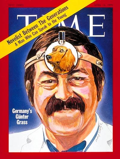 Gunter Grass on the April 13, 1970, cover of TIME