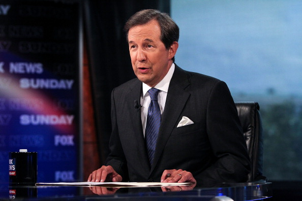 Chris Wallace during  FOX News Sunday  in Washington on July 27, 2012.