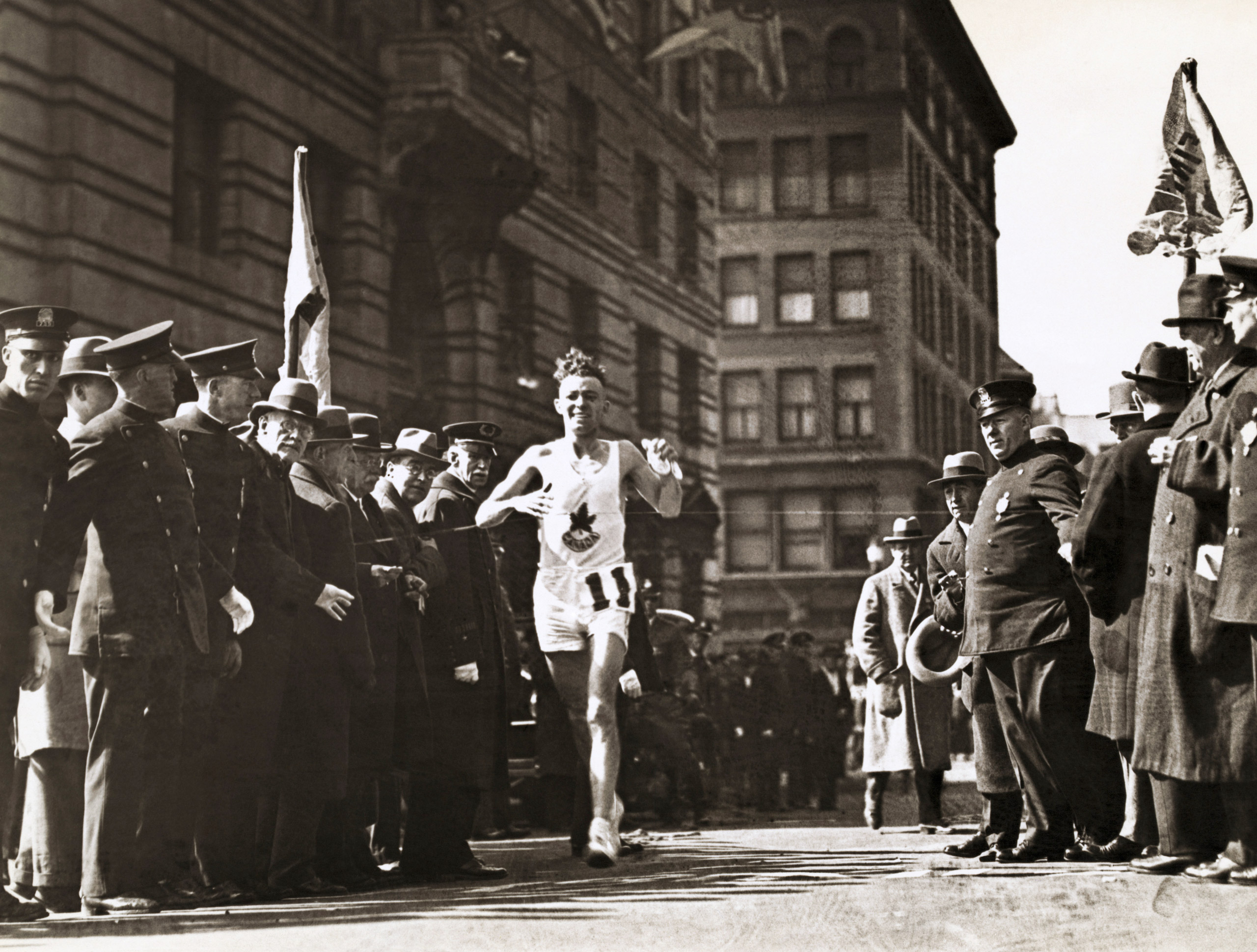 Johnny Miles, winner of the 1926 Boston Marathon.