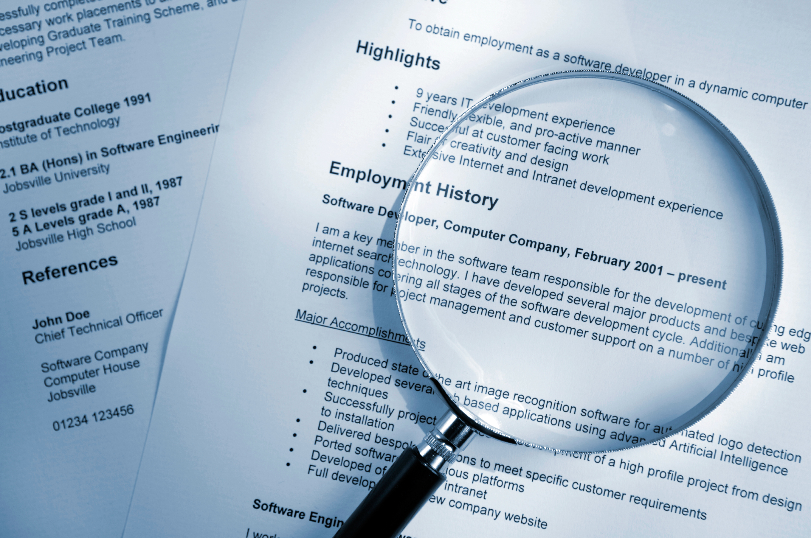 This Is the Absolute Biggest Mistake You Can Make on Your Resume
