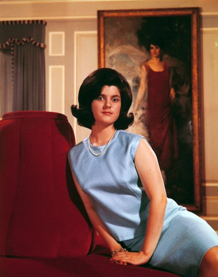 Luci Baines Johnson, 1964.