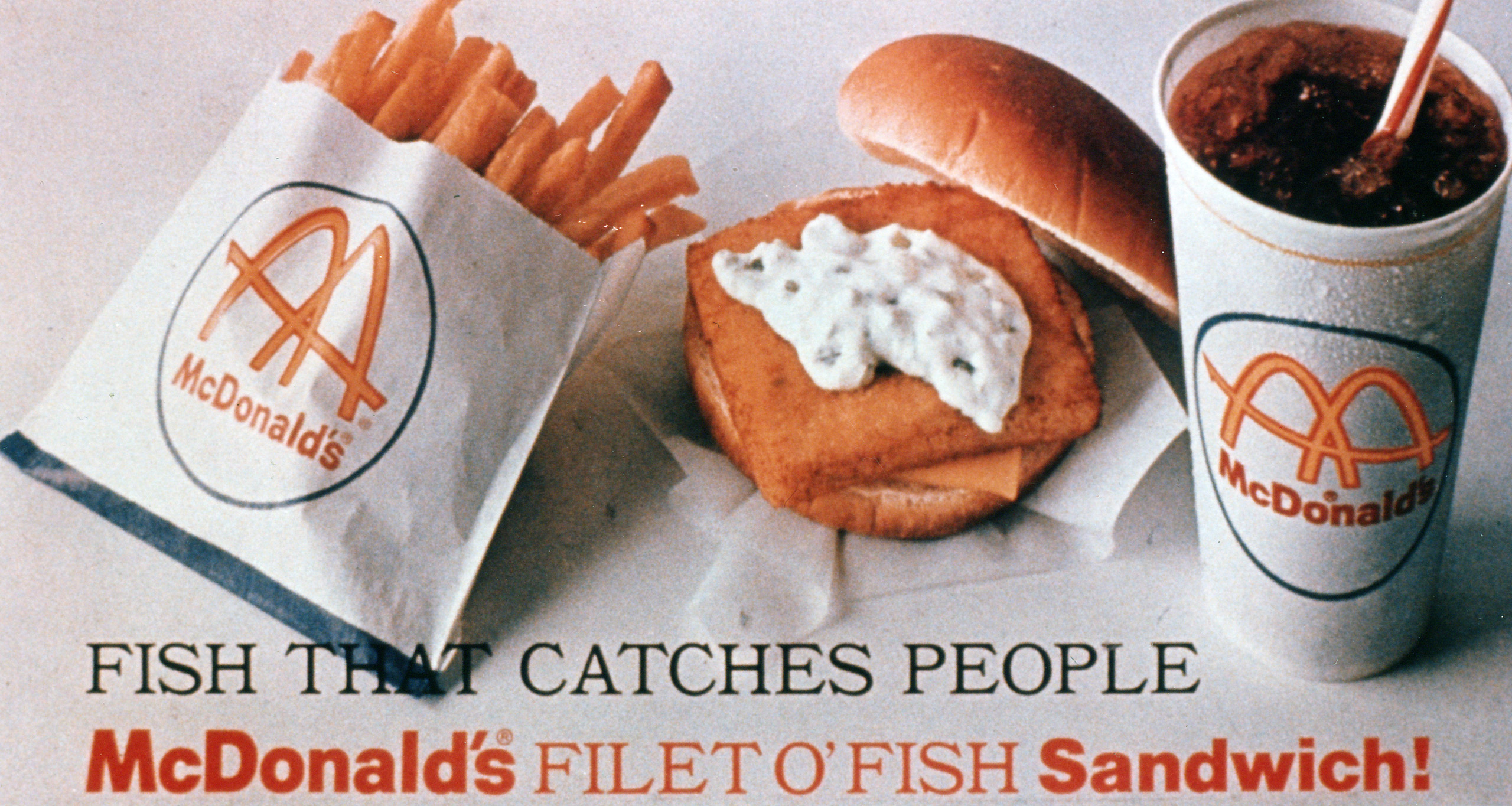The Filet-O-Fish Sandwich, the first new item added to the McDonald's menu, in 1965.