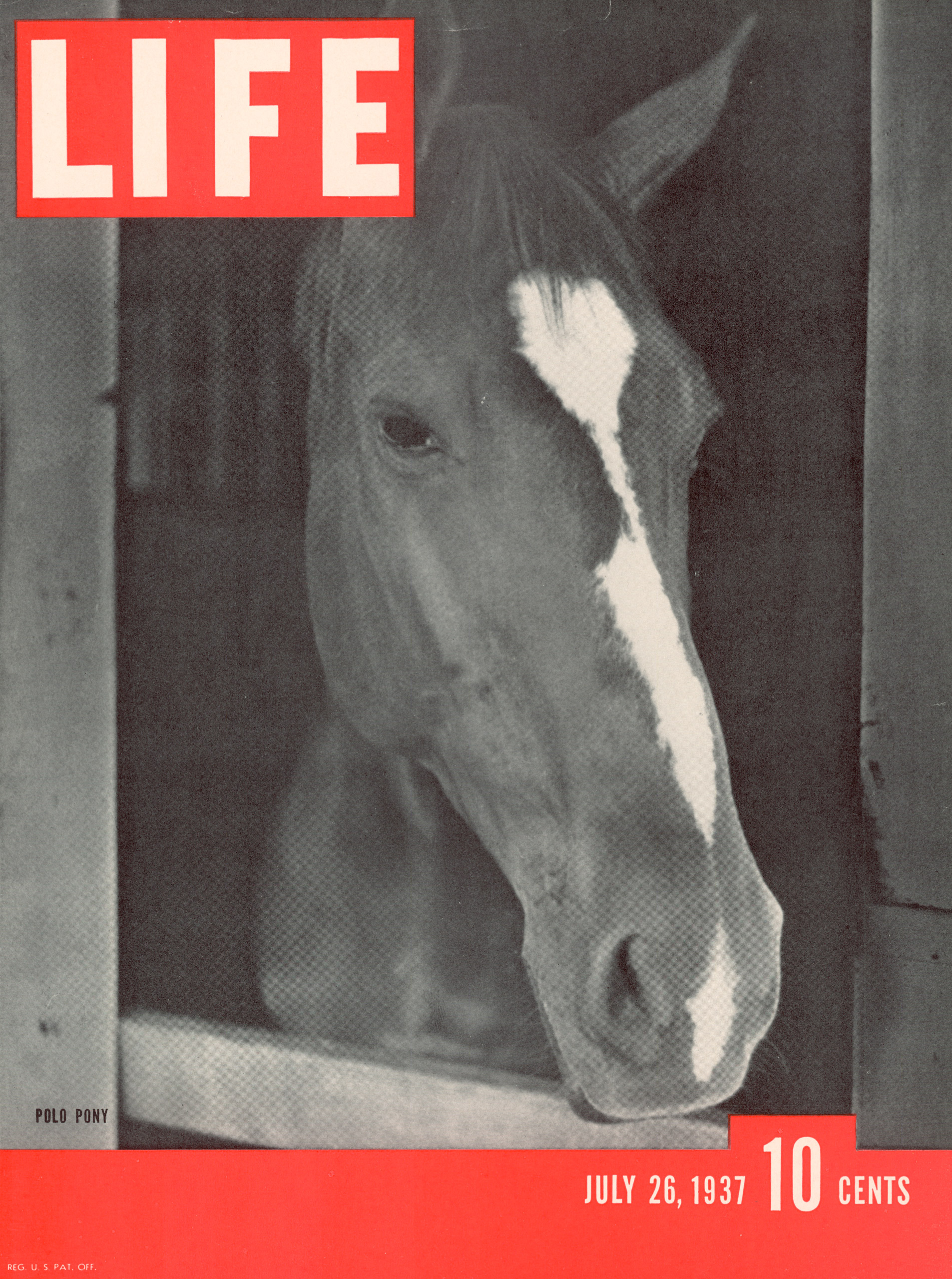 July 26, 1937 LIFE Magazine cover (photo by Alfred Eisenstaedt).