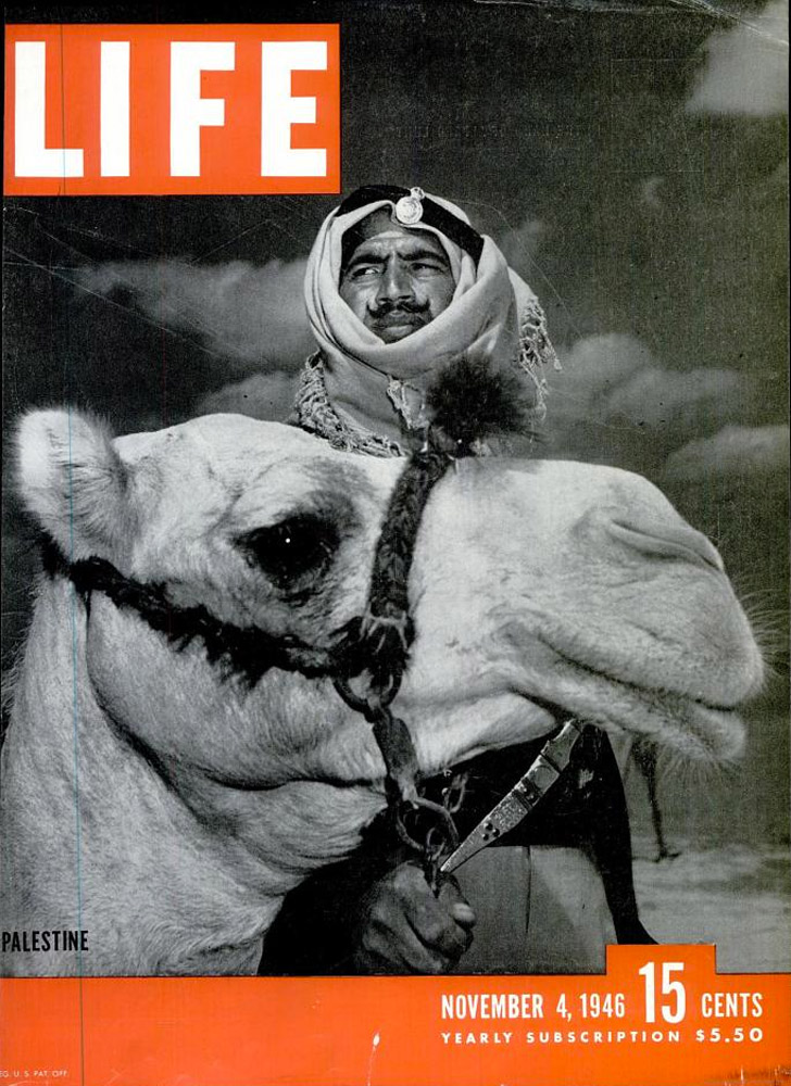 November 4, 1946 LIFE Magazine cover (photo by David Douglas Duncan).