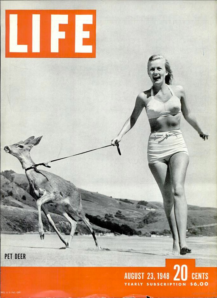 August 23, 1948 LIFE Magazine cover (photo by Jon Brenneis).
