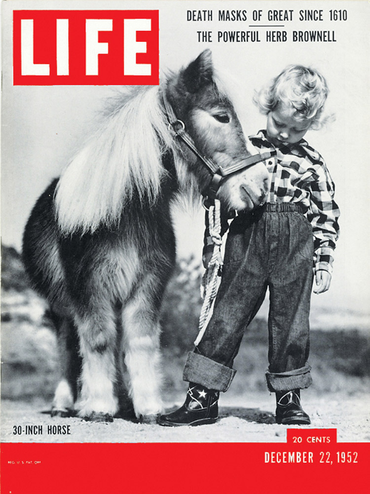 December 22, 1952 LIFE Magazine cover (photo by Ed Clark).