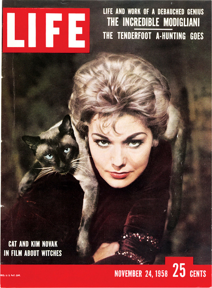 November 24, 1958 LIFE Magazine cover (photo by Ralph Crane).