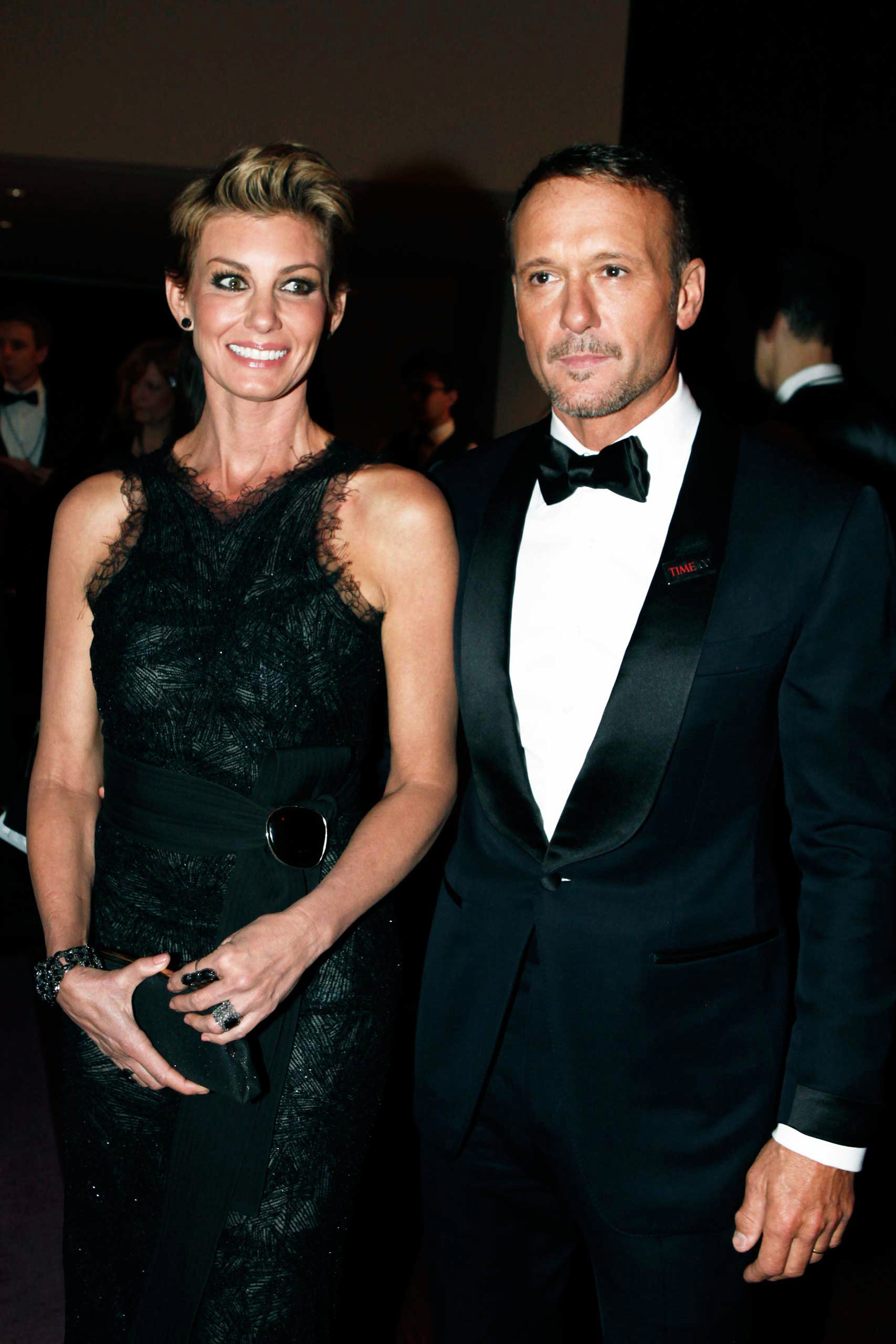 Faith Hill and Tim McGraw attend the TIME 100 Gala at Jazz at Lincoln Center in New York, NY, on Apr. 21, 2015.