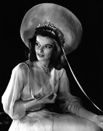 Katherine Hepburn as Tracy Lord in Philadelphia Story, 1938.