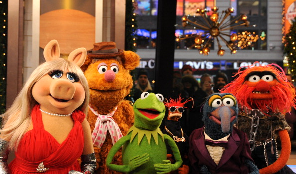 The Muppets take over  Good Morning America.
