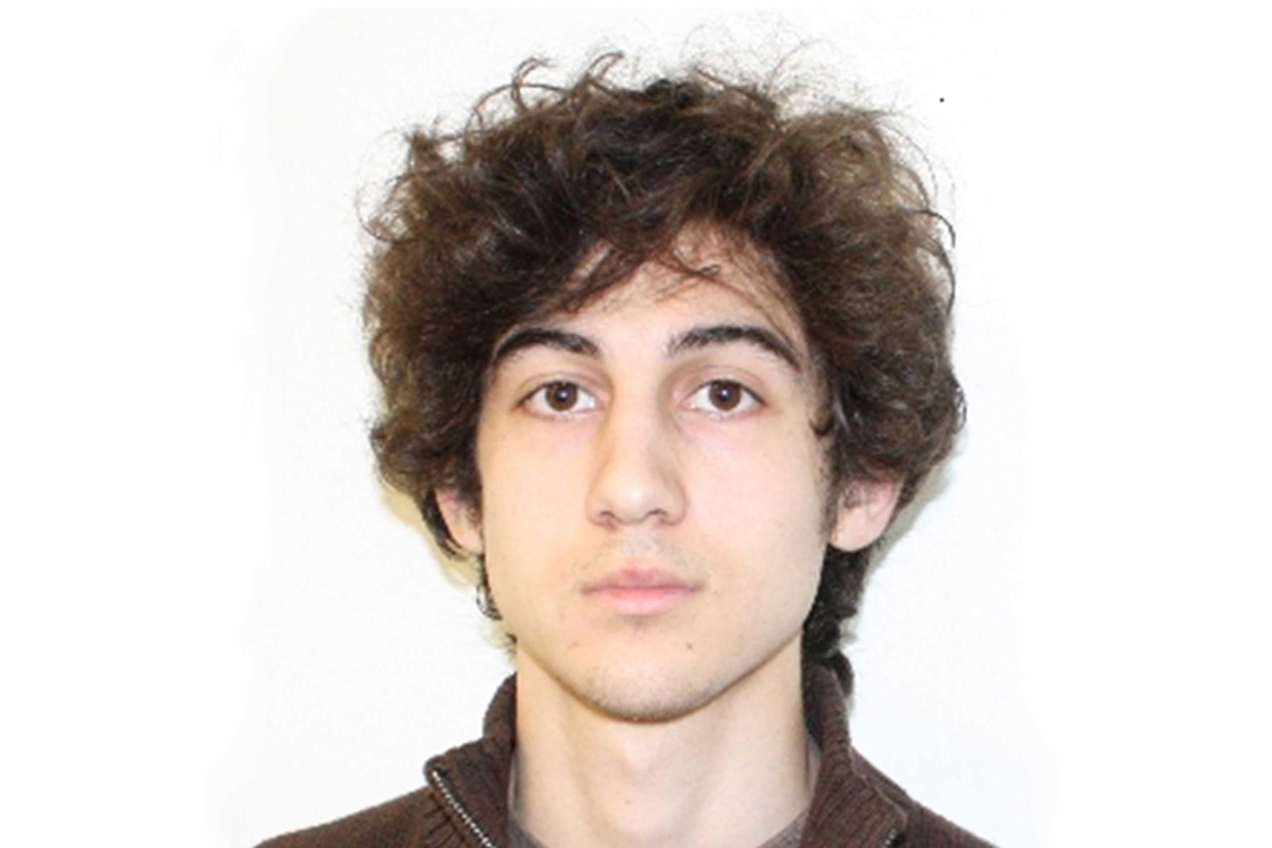Dzhokhar Tsarnaev, a suspect in the Boston Marathon bombing, photo released on April 19, 2013.