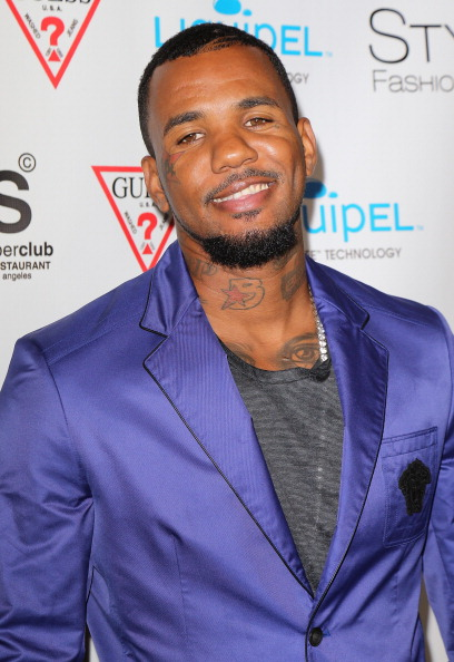 Rapper Jayceon Terrell Taylor aka The Game attends  America's Next Top Model  20th Cycle Celebration in Los Angeles on Aug. 7, 2013.