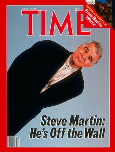 The Aug. 24, 1987, cover of TIME