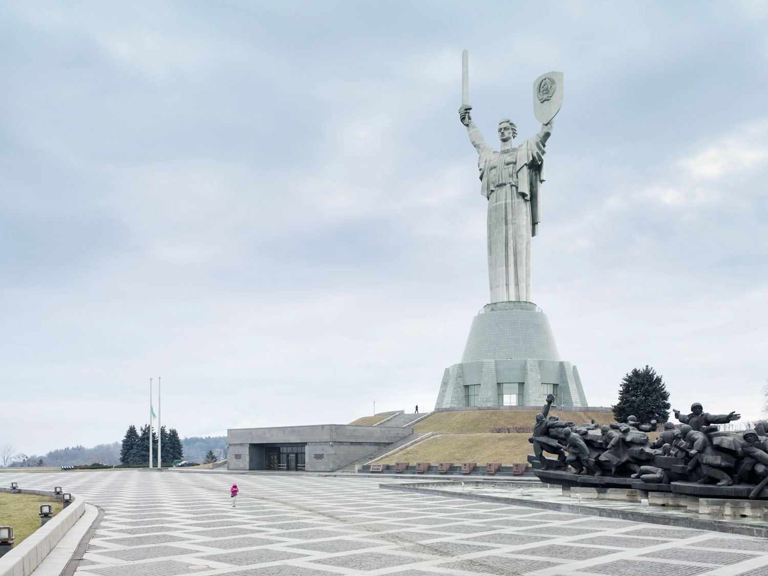 Mother of the Fatherland, 62m (203 ft.), built in 1981. Kiev, Ukraine.