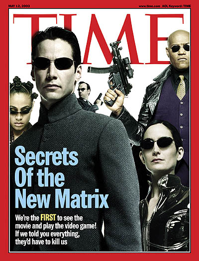 The May 12, 2003, cover of TIME