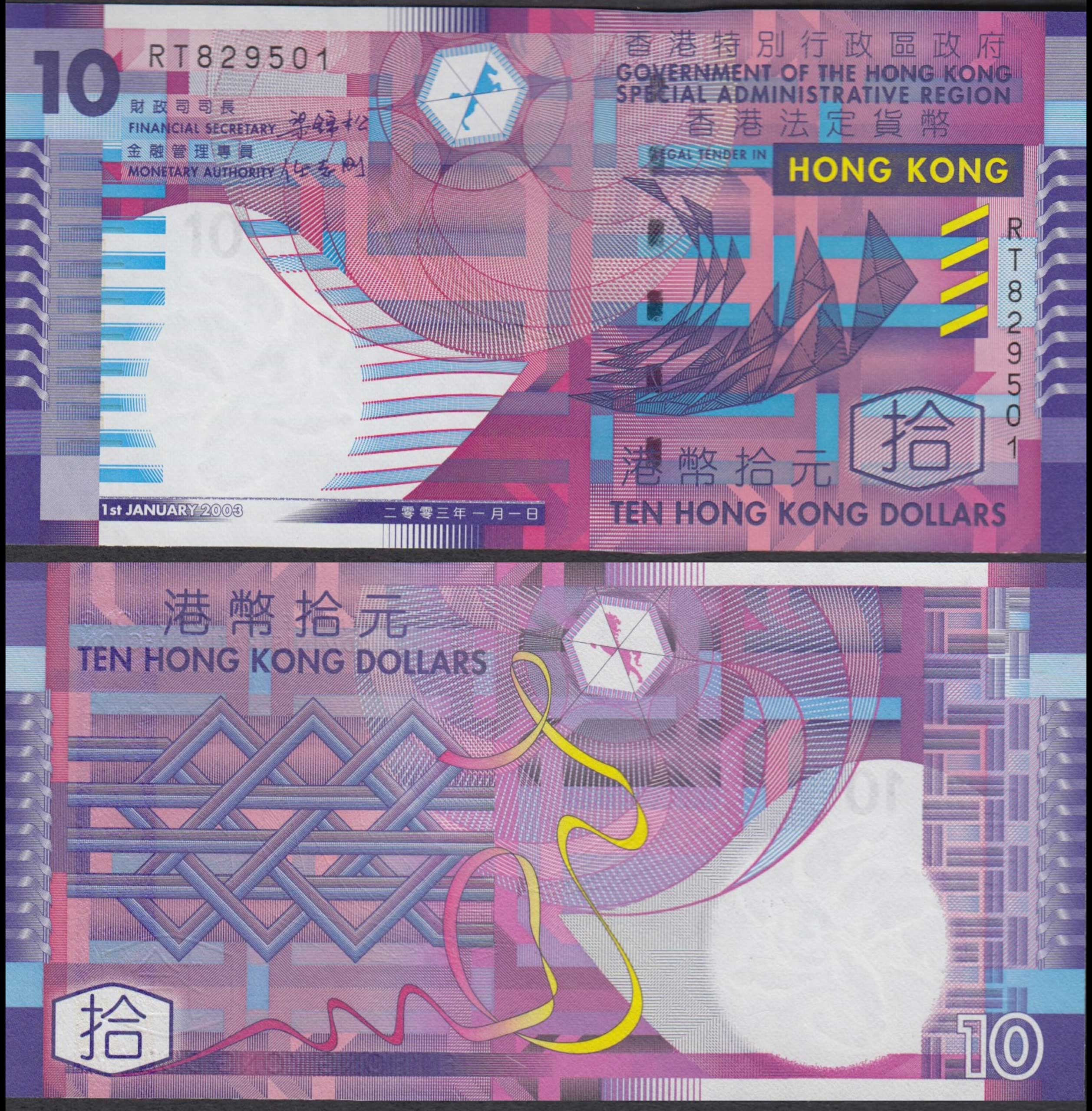 <strong>Hong Kong Dollar</strong>