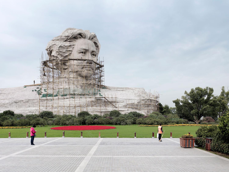 Mao Zedong, 32m (105 ft.), built in 2009. Changsha, China.