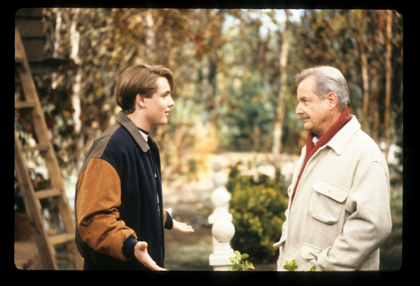 Will Friedle (L) as Eric Matthews and William Daniels (R) as Mr. Feeny in  Boy Meets World.