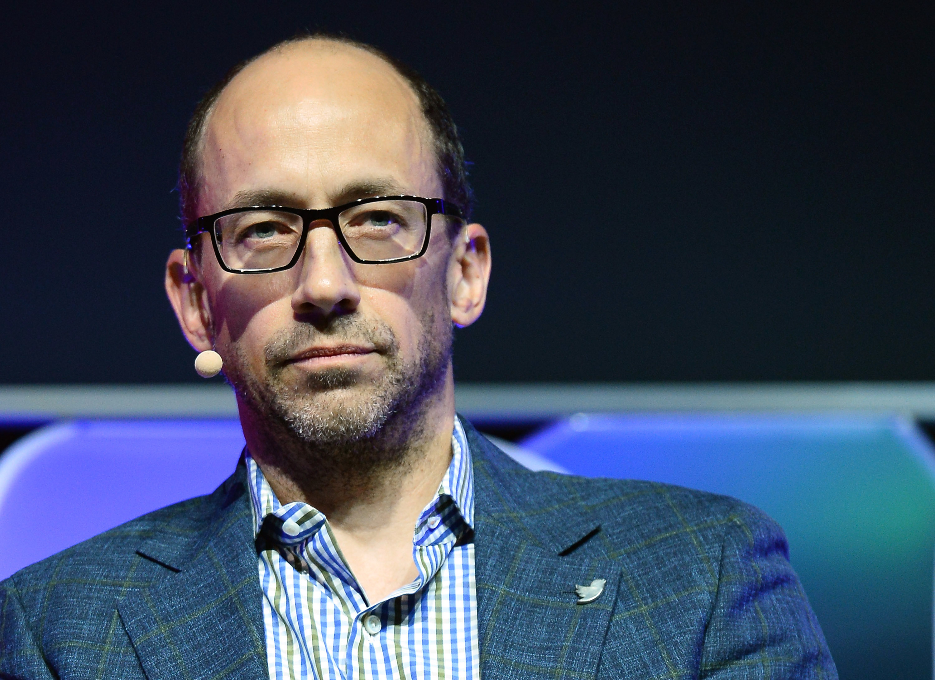 Twitter CEO Dick Costolo speaks during the Brand Matters keynote address at the 2014 International CES at The Las Vegas Hotel & Casino on January 8, 2014 in Las Vegas, Nevada.