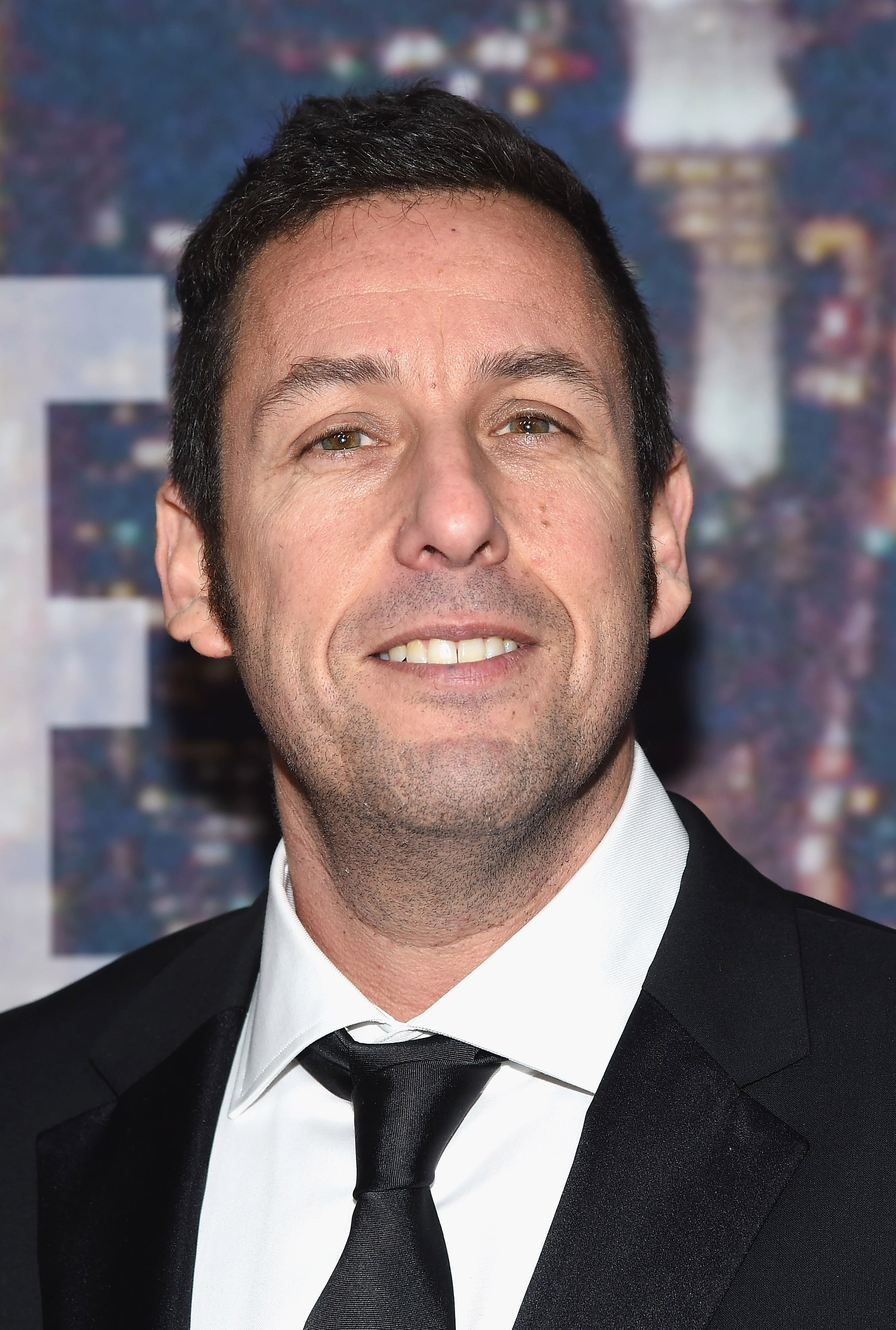 Adam Sandler attends the SNL 40th Anniversary Celebration at Rockefeller Plaza on February 15, 2015 in New York City.
