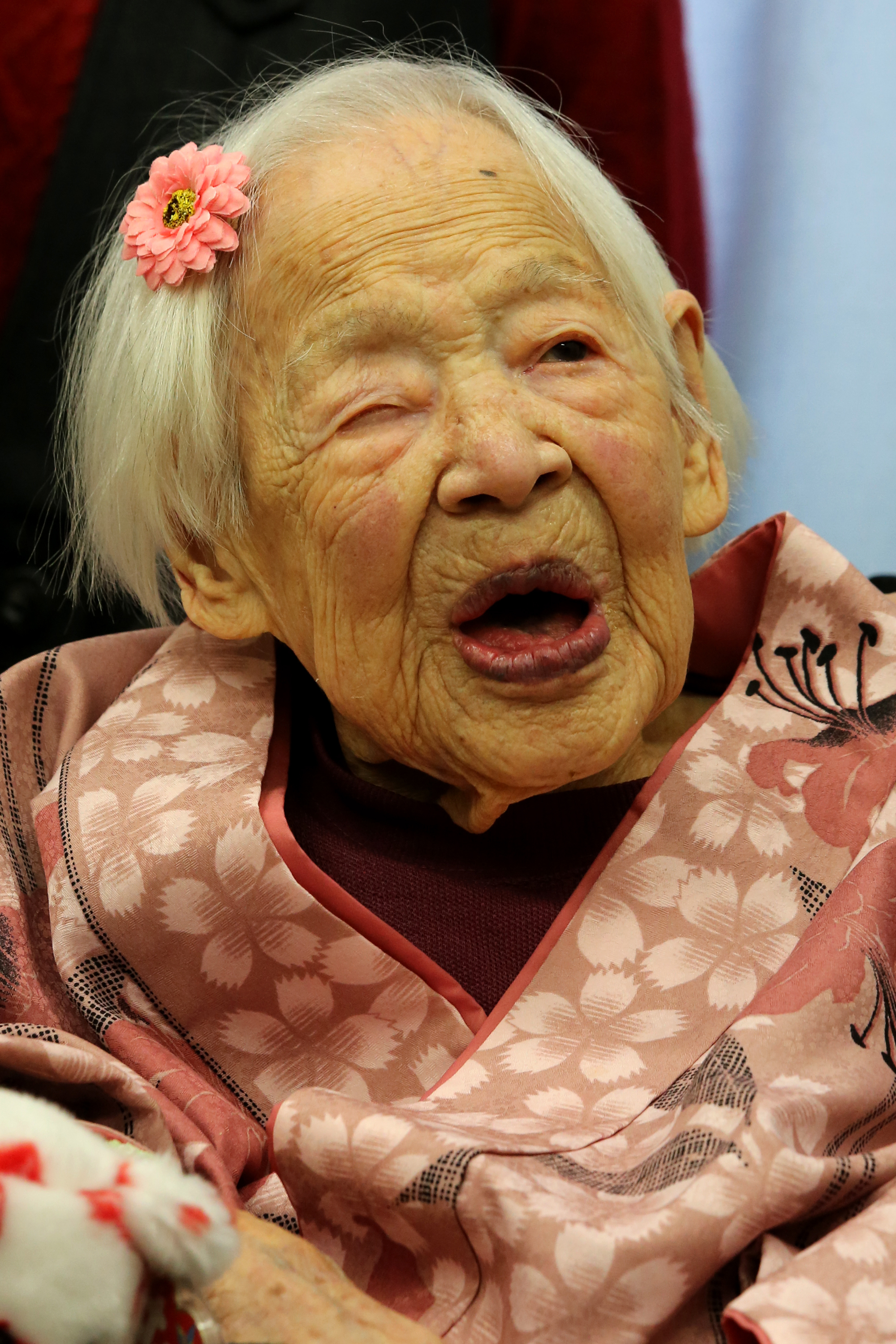 The World's Oldest Person, Misao Okawa, Has Died in Japan